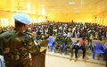 UNAMID organizes health awareness seminar for university students in West Darfur