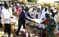 UNAMID distributes winter blankets to displaced people in West Darfur