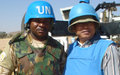 Cambodian UNV working as a Human Rights Officer for UNAMID in West Darfur